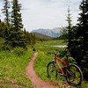 Colorado Trail - Copper to Searle July 2009.  Saddle sores kept me from the top!