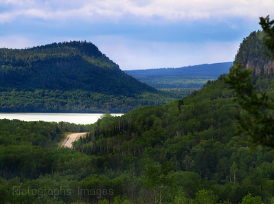 Spring, Kama Bay, Scenic Lookout, Lake Superior Circle Route, Highway Seventeen, Northern Ontario, Canada