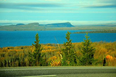 Trans Canada Highway Seventeen Autumn,