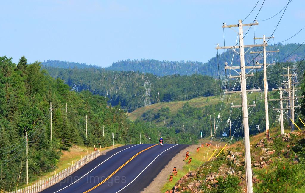 Biking, Touring Canada