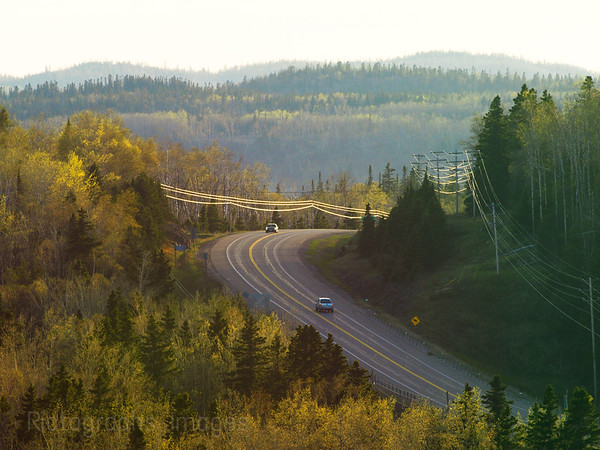 Travel On The Trans Canada Highway,