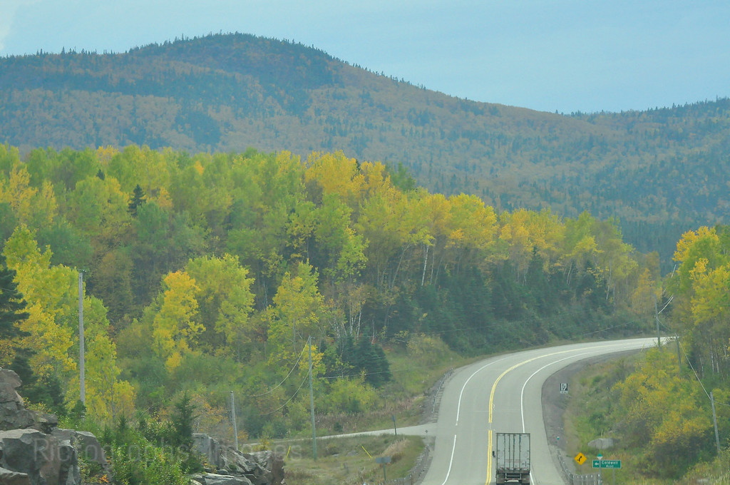 Highway Seventeen Northern Ontario, Canada