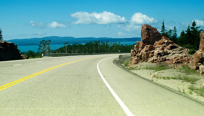 Travelling on the Trans Canada Highway, Photography