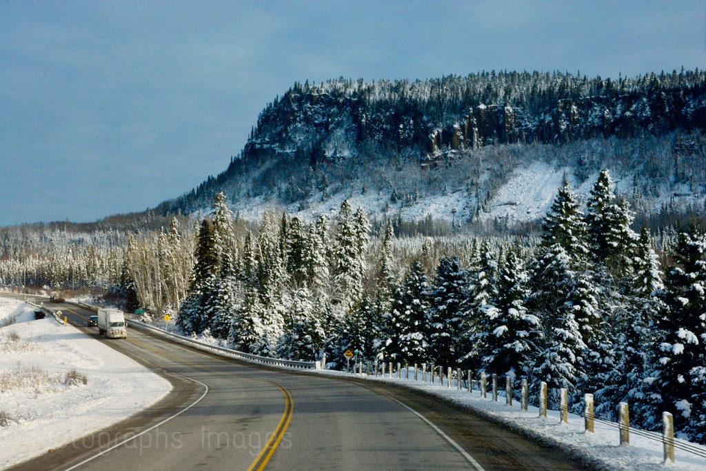 Winter Highway Travel