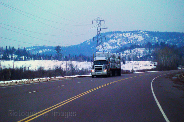 Travelling The Trans Canada Highway