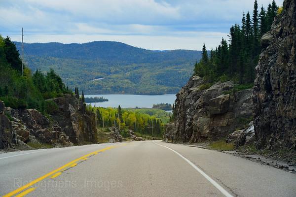 Travel, Trans Canada Highway Seventeen, Autumn 2018