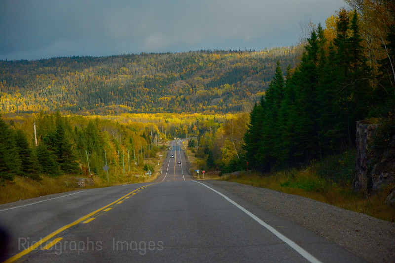 Fall Travel On The Trans Canada Highway