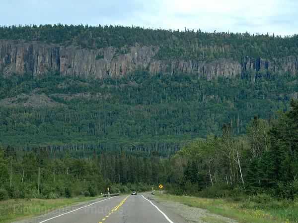 Trans Canada Highway, Seventeen, Northern Ontario, Canada
