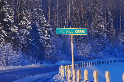 Fire Hill Creek, Sign, 2018