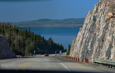 Traveling on The Trans Canada Highway, Spring 2015