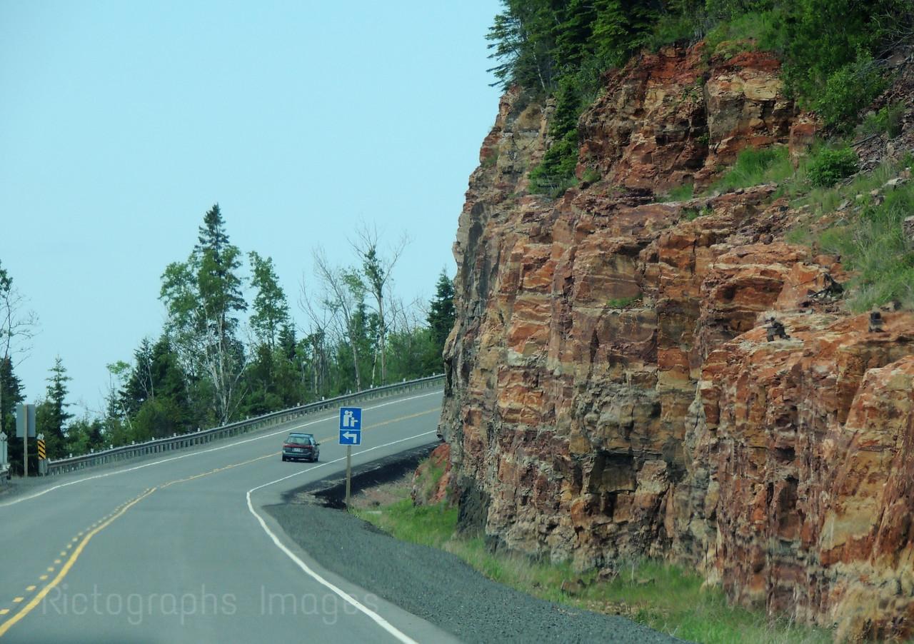 Travel, Trans Canada Highway, Seventeen, Northwestern Ontario, Canada