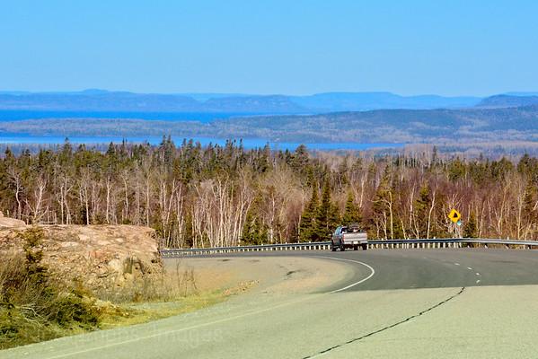 Exploring Canada Highway Travel