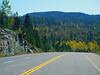 A Drive By Shooting While Traveling , Autumn, Trans Canada Highway,