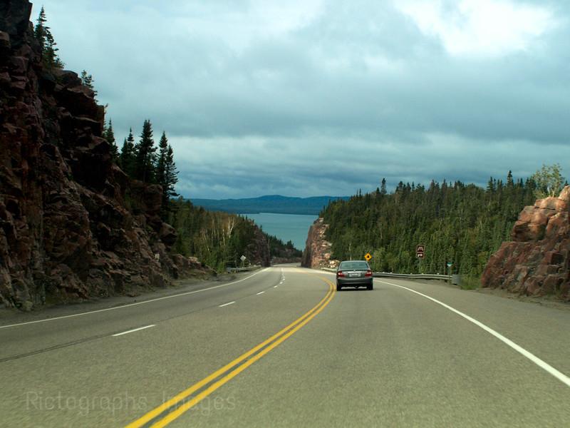 Trans Canada Highway Seventeen, Cavers Rock Cut, Travel History