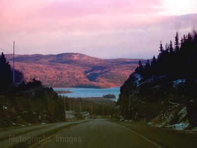 Trans Canada Highway Seventeen, Northwestern Ontario, Canada