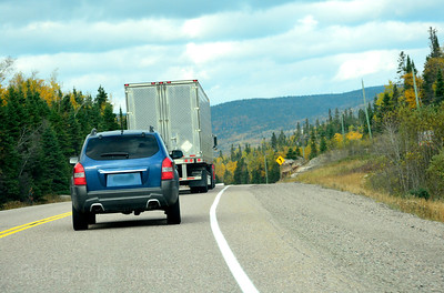 Trucking, The Trans Canada Highway,   Rictographs Iimages