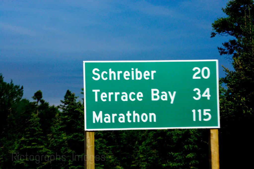Sign,Trans Canada Highway, Travel, Photography