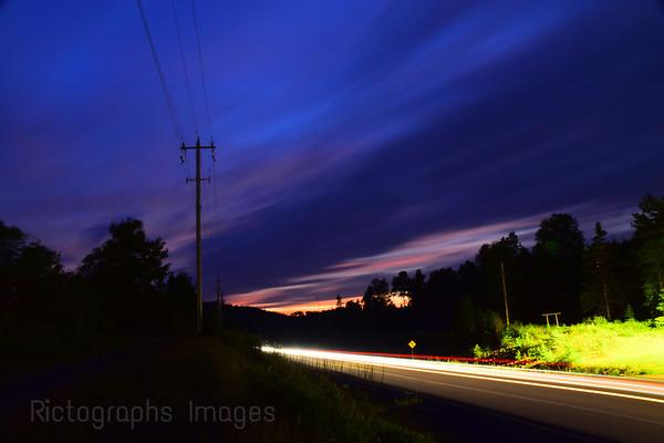 Night Travel, Trans Canada Highway Seventeen