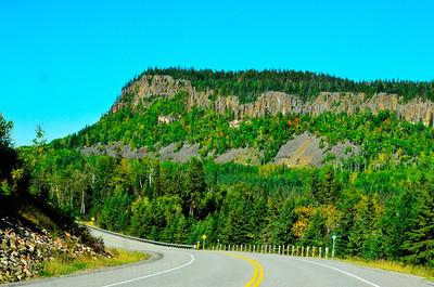 Highway Travel, North Western Ontario, Canada