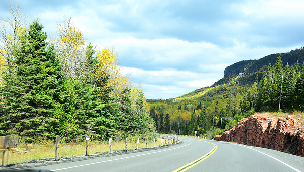 Trans Canada Highway Travel Photo