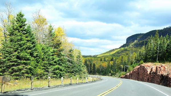 Trans Canada Highway Travel Photo