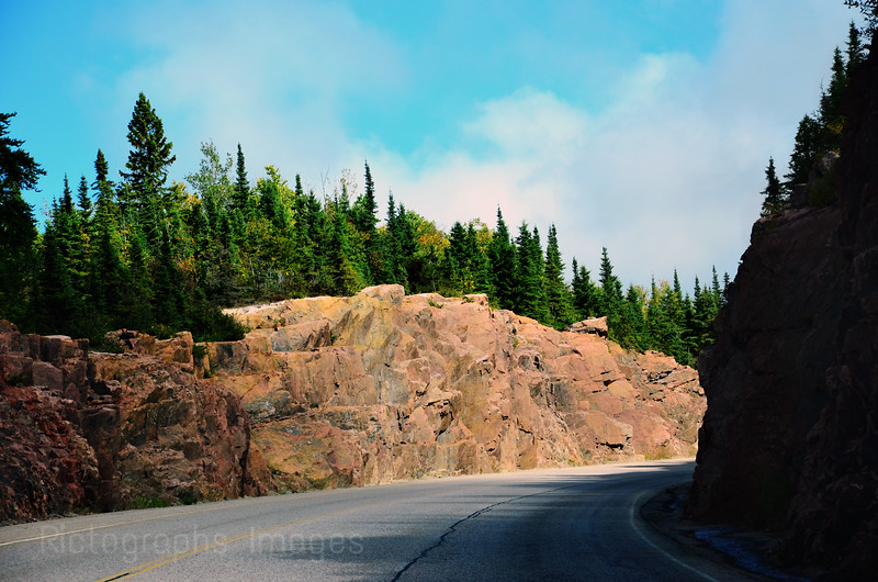Trans Canada Highway Landscape, Travel,