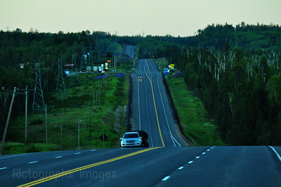 Travel On The Trans Canada Highway, Photography