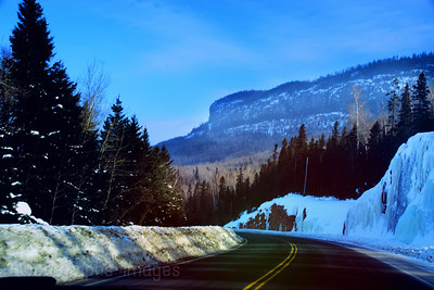 Trans Canada Highway Travel, Winter 2019