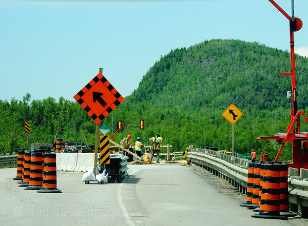 Buffalo Mountain, Trans Canada Highway Renewal