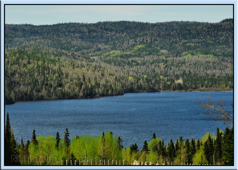 Jackfish Lake, Trans Canada Highway Seventeen, Ontario, Canada, 2013