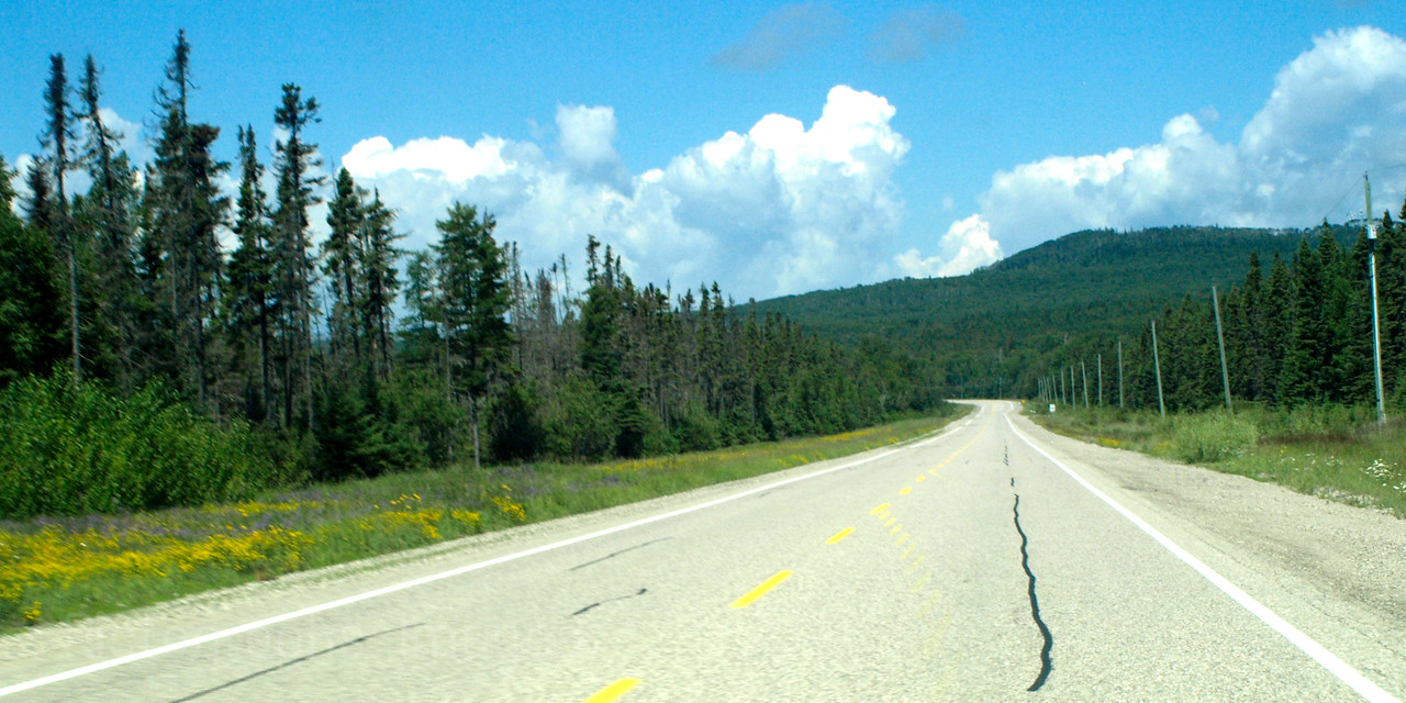 Trans Canada Highway, Travel, Northwestern Ontario, Canada