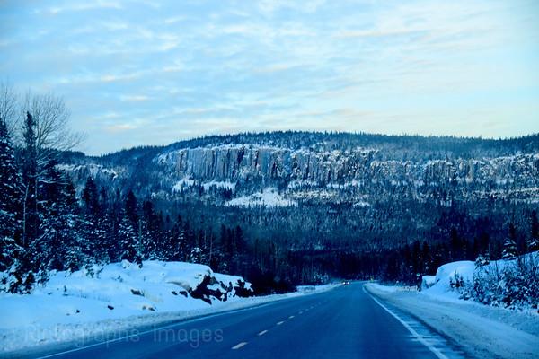 Winter Travel, Highway Seventeen