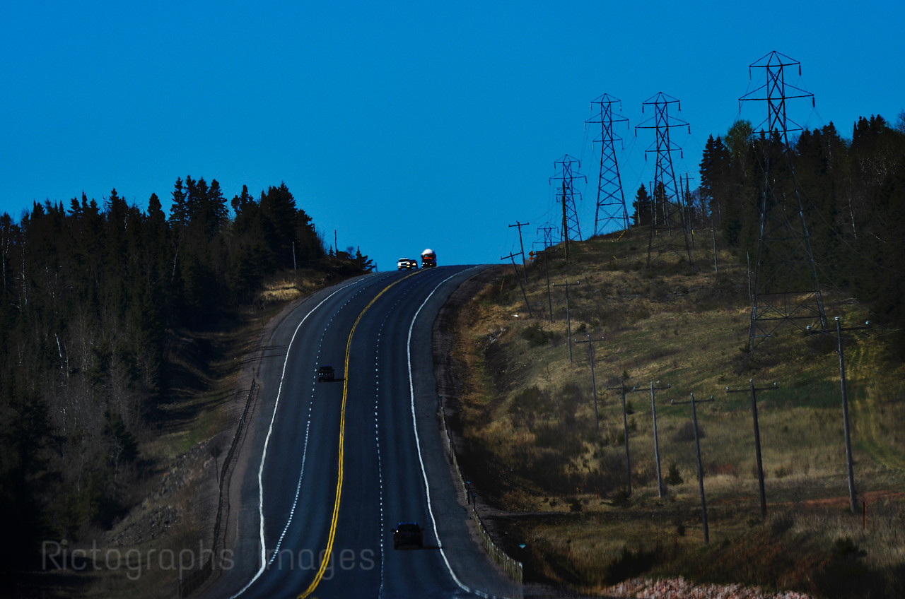 Travel on The Trans Canada Highway, Spring 2015