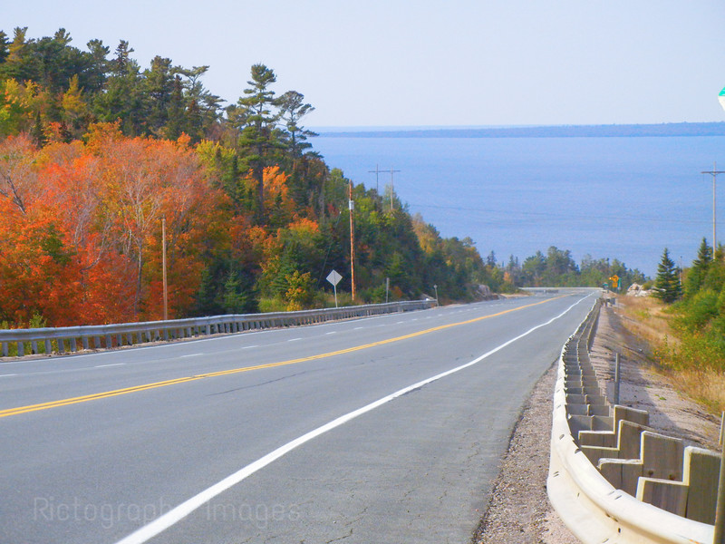 Highway Seventeen Northwest of Sault Ste. Marie, Ontario, Canada