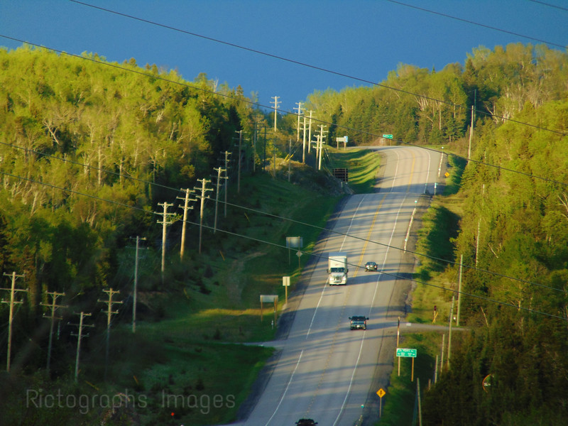 Trans Canada Highway Seventeen, Northwestern Ontario, 2016