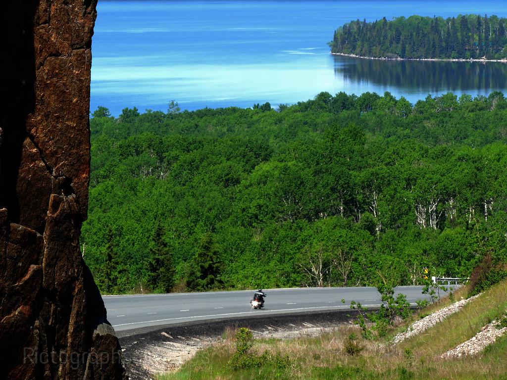 Biking The Trans Canada Highway; Road Trip Touring