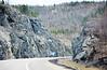 Highway Rock Cut, Northern Ontario