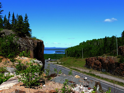 Highway Seventeen, Lake Superior Circle Route Trees in Nature