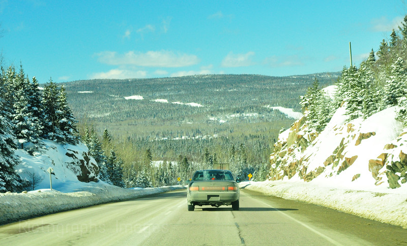 Winter Travel on the Highway