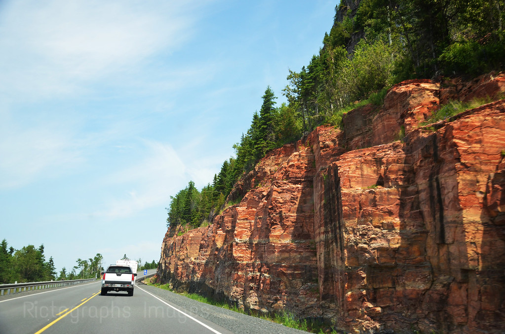 Travel, Highway Seventeen, Lake Superior Circle Route, 2014