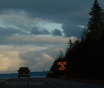 Travel, on the Trans Canada Highway Seventeen in Northwestern Ontario. A Beautiful Drive Along Northwestern Ontario's Southern Coast.