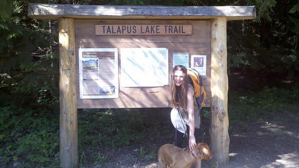 Hike to Olallie Lake