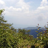 View from what I call the pulpit looking off Hooper Bald.