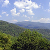 Gorgeous View from the Cherohala Skyway toward the Nantahala NF and Snowbird