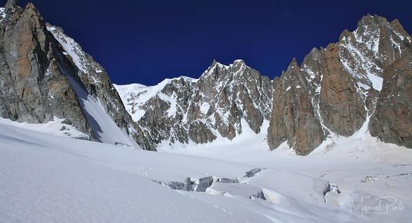 Aiguille du Midi Valle blanche