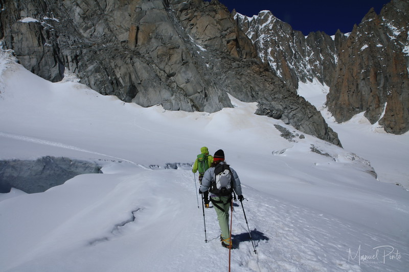 Hiking Valle blanche