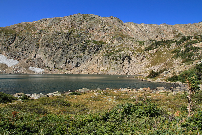 Kings Lake   elevation 11,500 ft