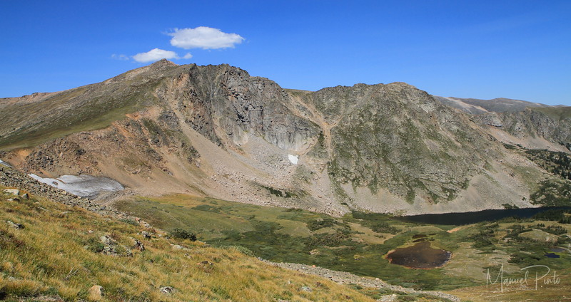 Devil's Thumb Lake seen from the Continental Divide
