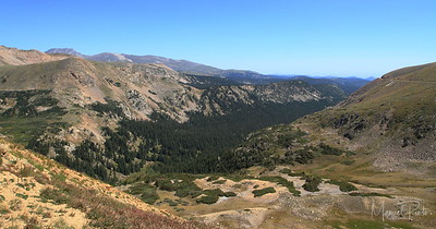 East seem from the Continental Divide