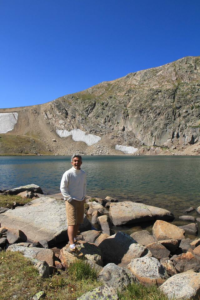 Manu at Kings Lake